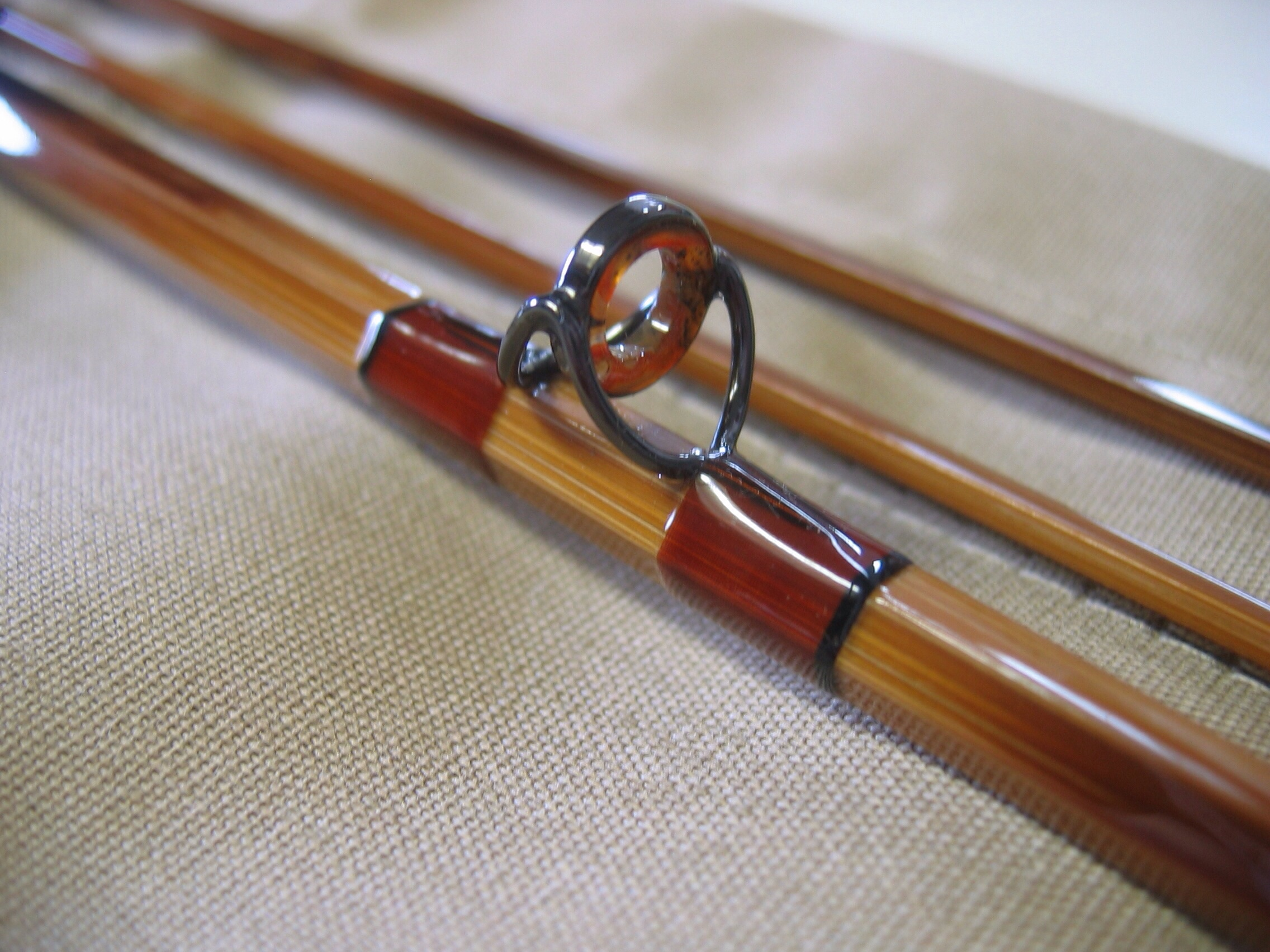 D i y bamboo fishing rod scarborough fly and bait for Bamboo fishing rods