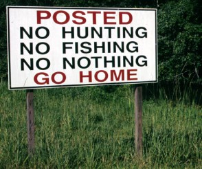 sign_no_hunting_GO_HOME