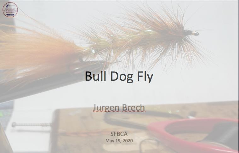 Jurgen Bullk Dog fly cover